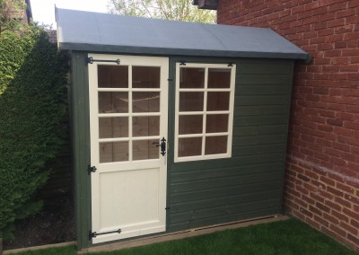 Abinger 8x6 with Painted Finish