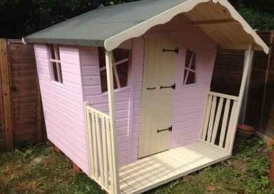 Bramshott Playhouse 7x5, Extra Height, Shades Finish.