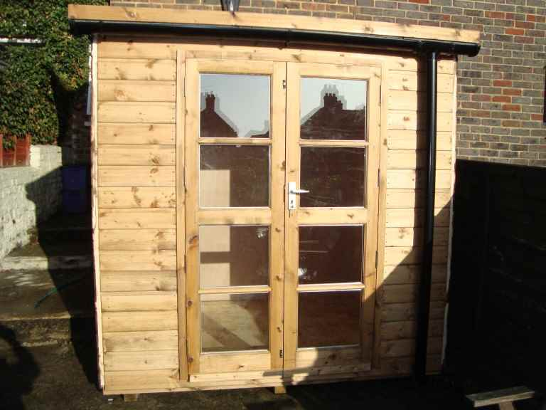 Deluxe Pent/Corner Sheds