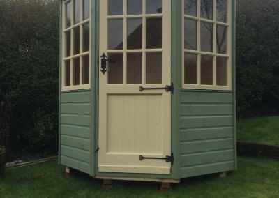 Frensham 6x6 with painted finish.