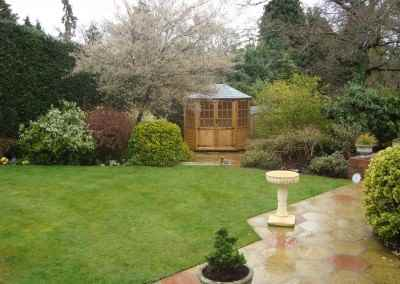 Frensham double door Gazebo 8X6 (2)