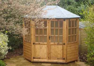 Frensham double door Gazebo 8X6 with Double Doors