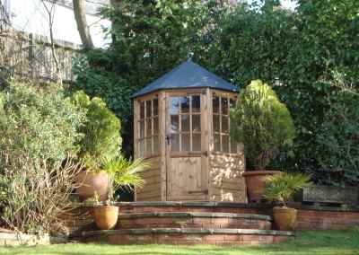 Frensham single door Gazebo 6X6