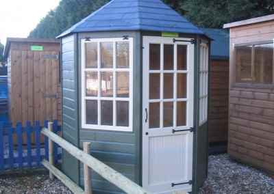 Frensham single door Gazebo 6X6 with Painted Finish