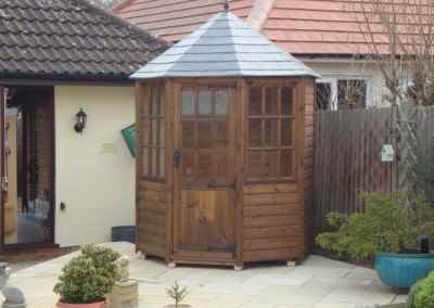Frensham single door Gazebo 6X6(3)