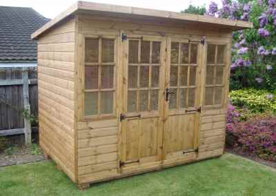 Hampton 8x6, Pent Roof