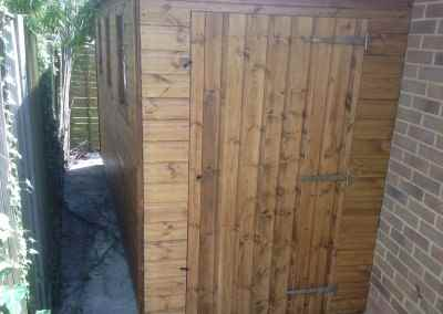 Lean-To Deluxe Pent 12x5