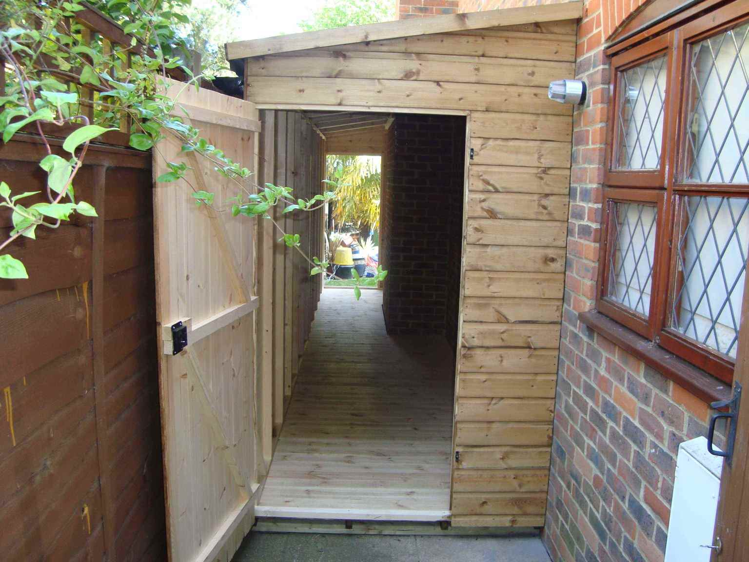 Lean to 39 s mb garden building for Garden room lean to