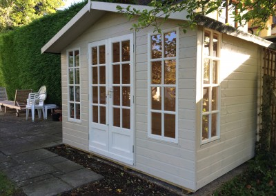 Petersham 10x8 with Painted Finish