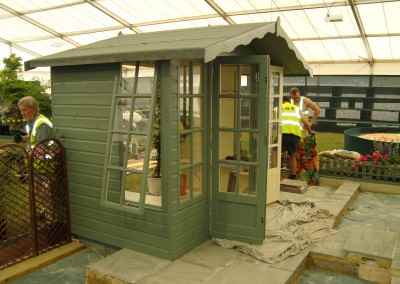 Petersham 8x6 at Hampton Court Flower Show. (2)