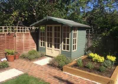 Petersham 8x6 with Painted Finish.
