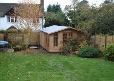 Petersham Bespoke 12x18 Summerhouse