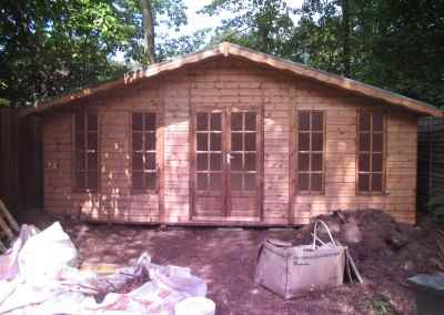 Petersham bespoke 20x10 Summerhouse with obscured glass