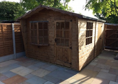 Puttenham 10x12 with Shed Compartment