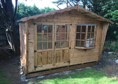 Puttenham Bay 12x8 with Double Doors