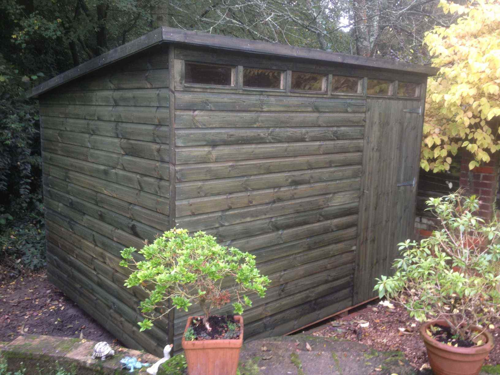 Security Shed Mb Garden Building