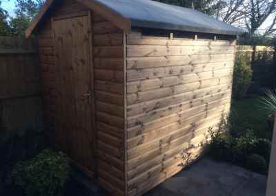 Security Shed 8x6