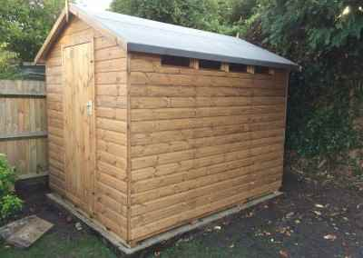 Security Shed 9x7