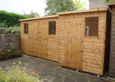 Super Pent 10x3with Double Doors and 6x5 Super Pent