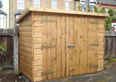 Tool Shed 6x3 with Double Doors in High Side