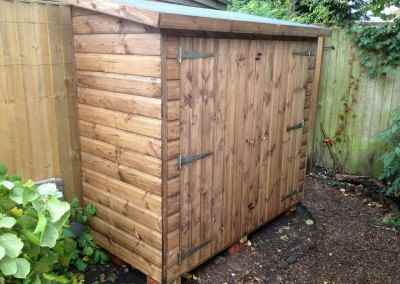 Tool Shed 6x3 with Double Doors.