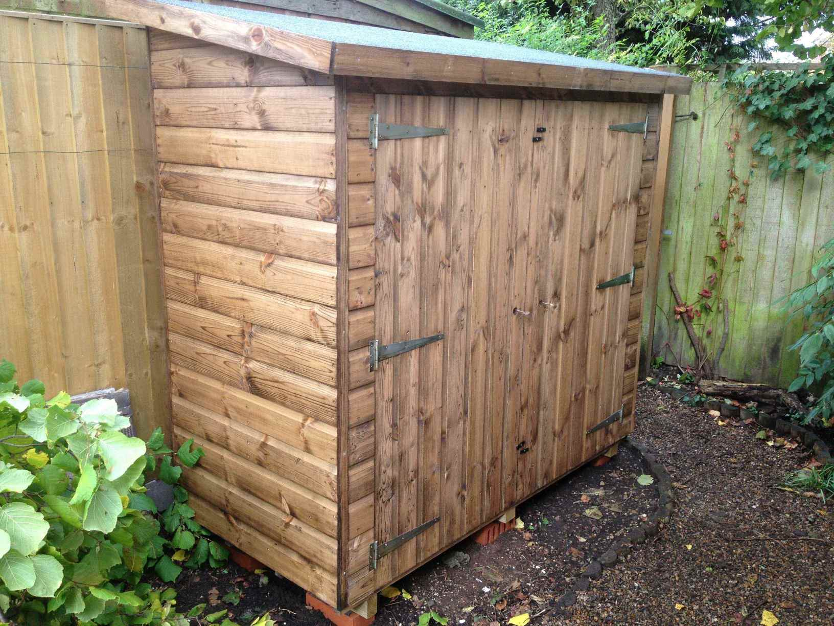 tool shed 6x3 with double doors - Garden Sheds 6 X 3