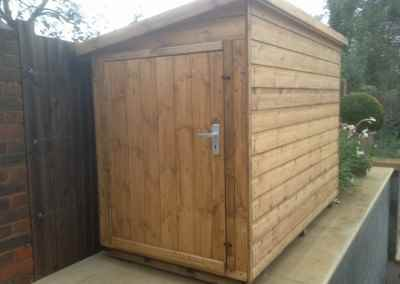 Tool Shed 7x4 with Security Shed Door