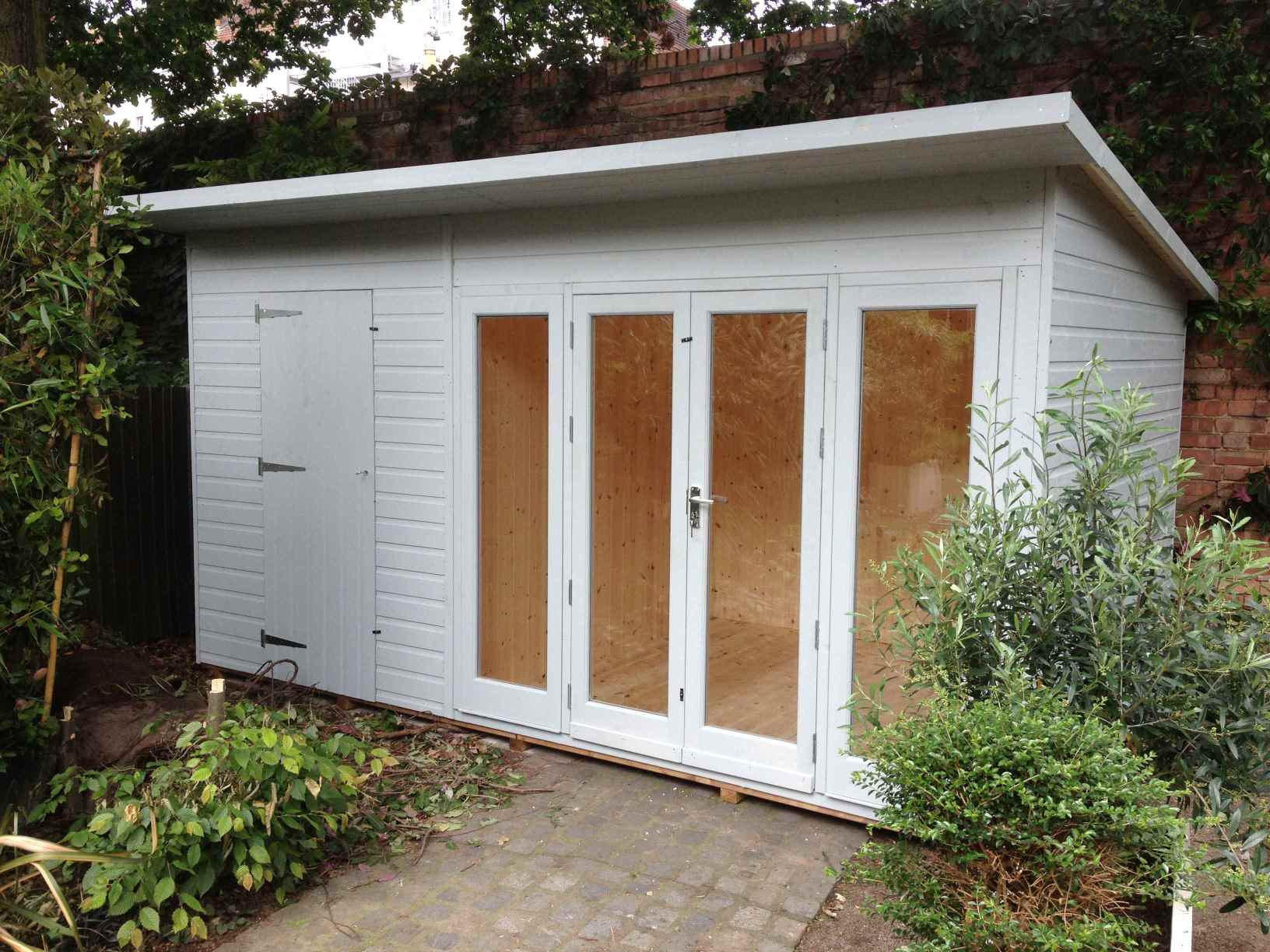 Combination buildings mb garden building for Small outdoor sheds for sale