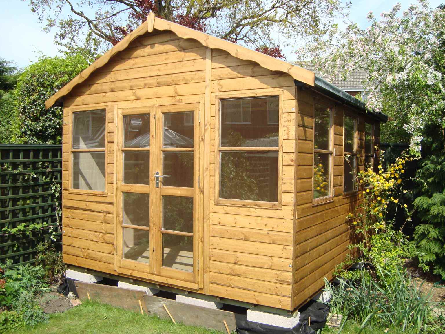 Mb Garden Buildings Summer Houses Play Houses Garden Sheds