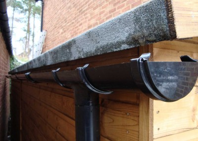 Guttering and Downpipe
