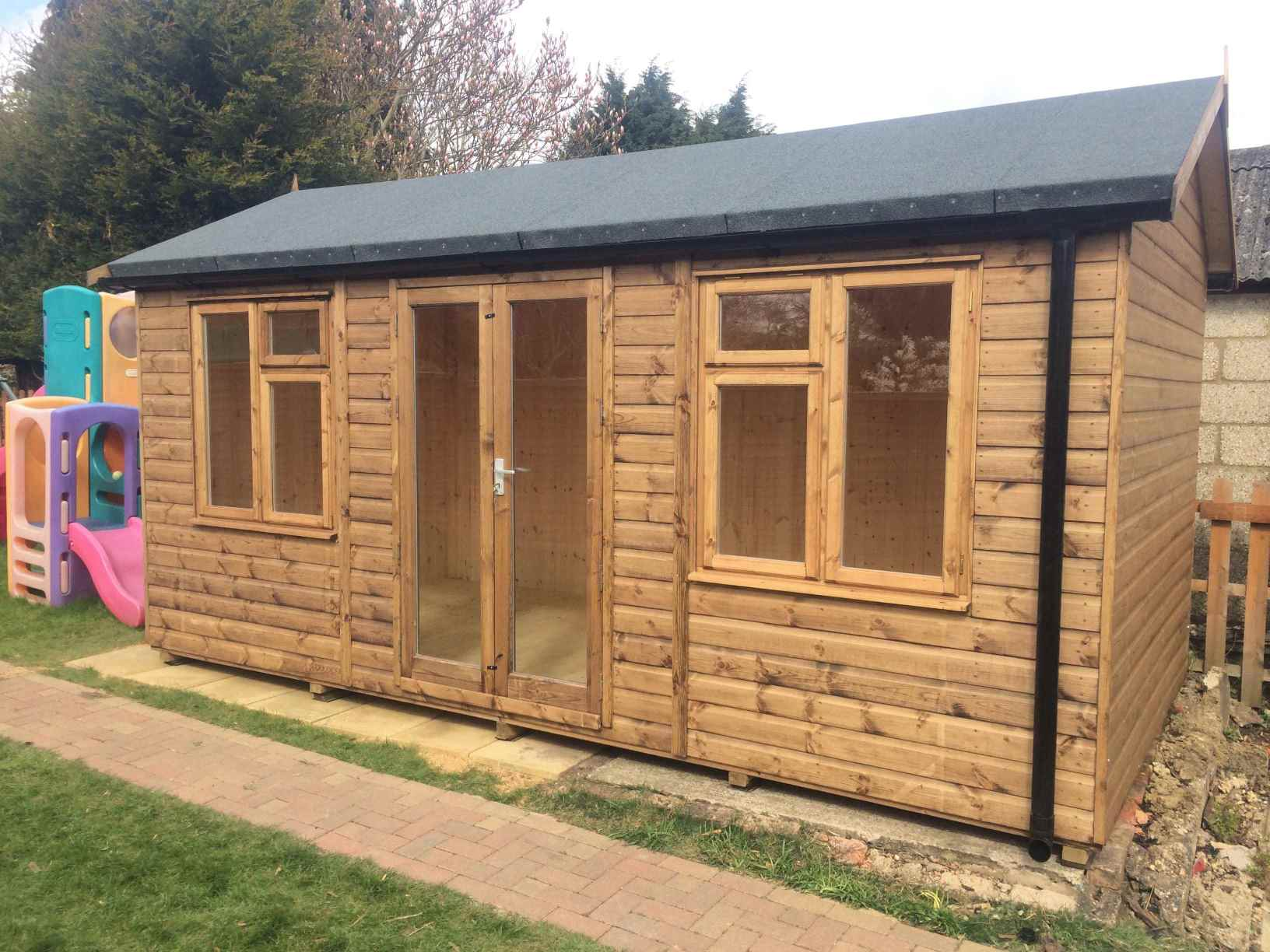 Garden Sheds 20 X 10 heavy duty workshop (sheds) - mb garden building