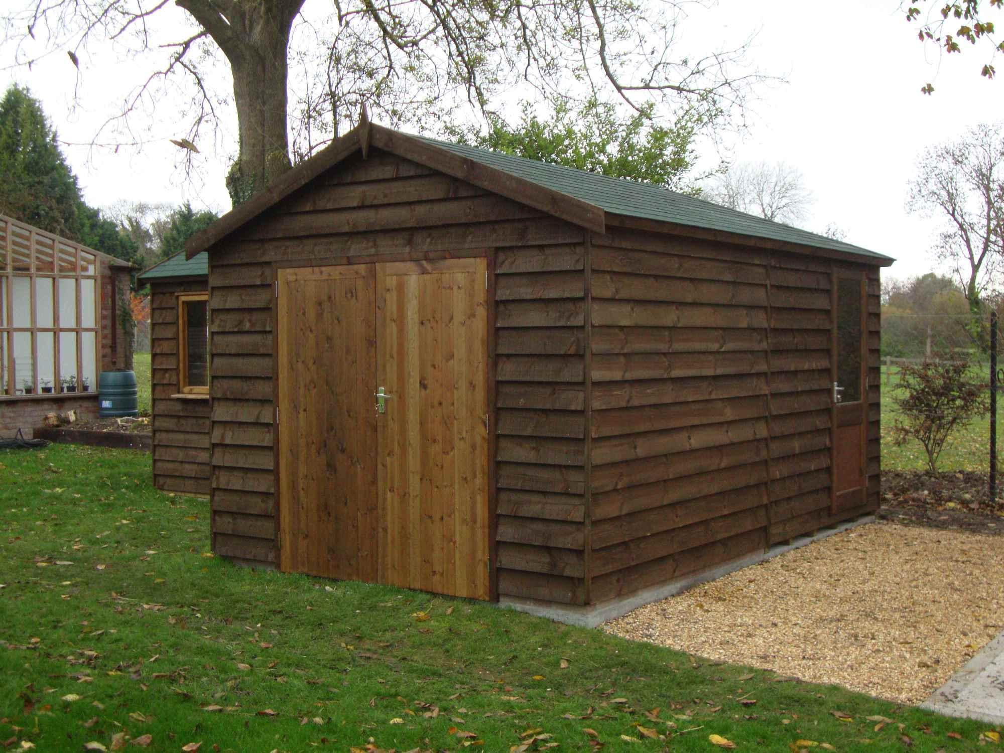 heavy duty workshop bespoke buildings mb garden building. Black Bedroom Furniture Sets. Home Design Ideas