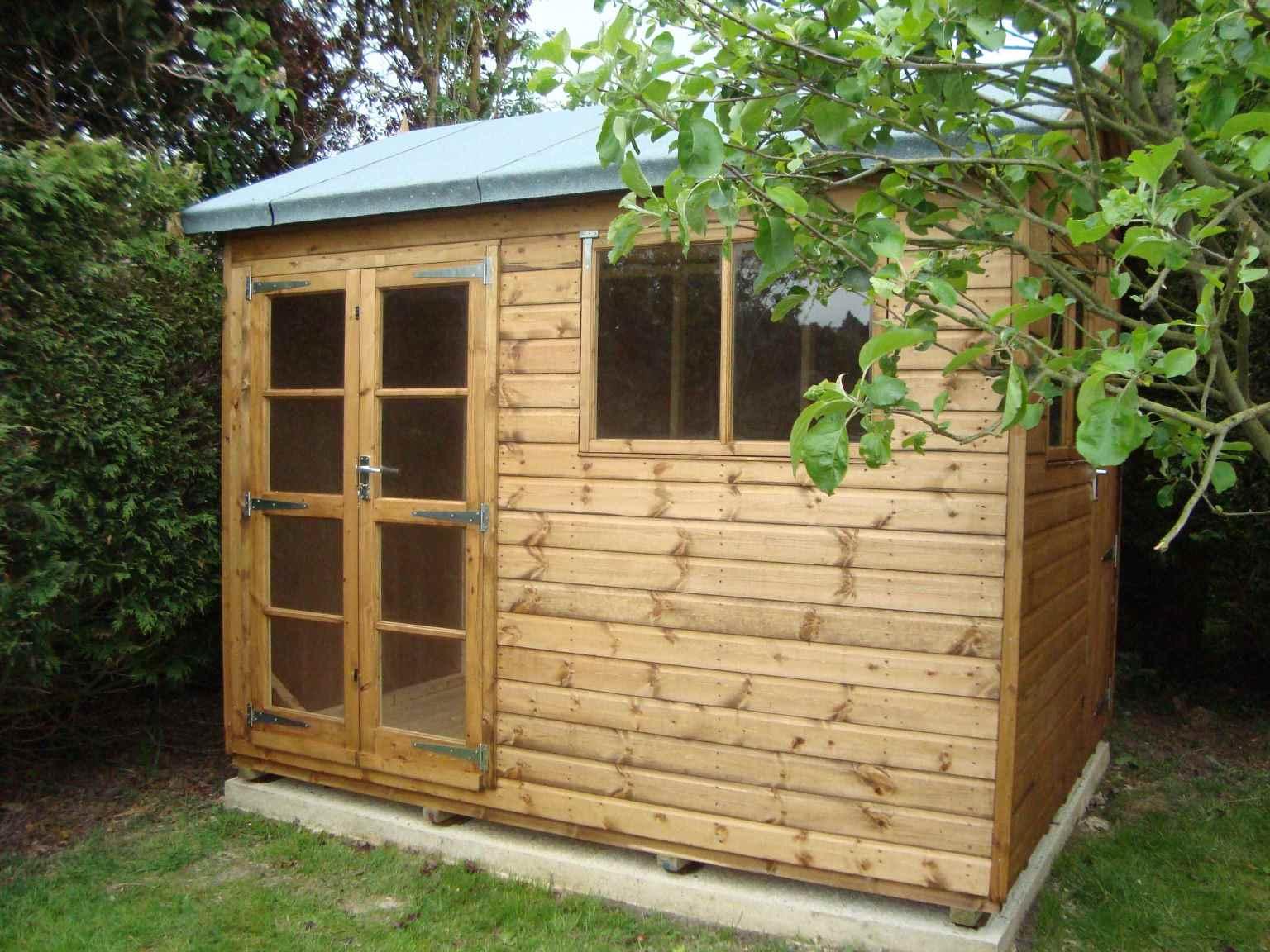 Garden Sheds Ripley heavy duty workshop - mb garden building