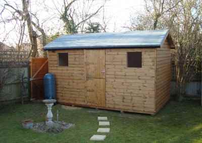 Heavy Duty Workshop Bespoke 14x8 with Stable Door