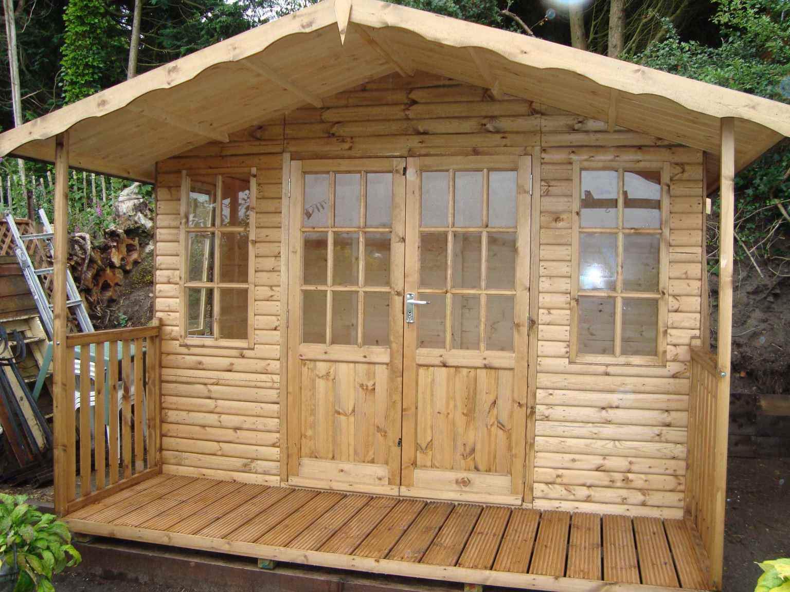 Log Lap Cladding