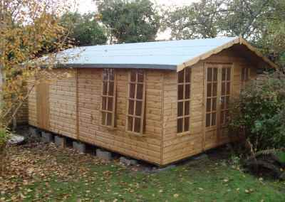 Petersham 12x18 bespoke combined Shed