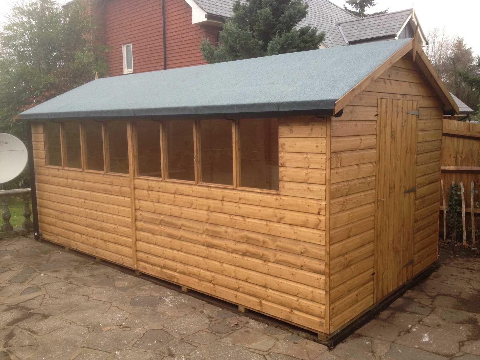 stratco handi garden shed instructions