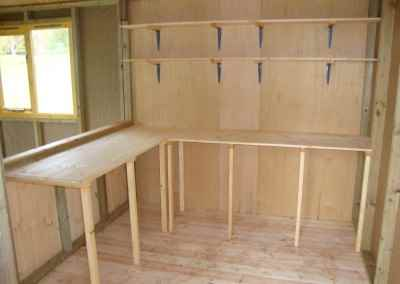 T&G Benches and Shelving