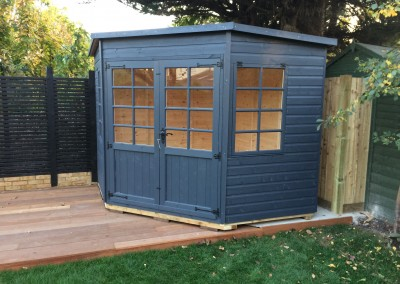 Tilford 8x8 with Painted Finish
