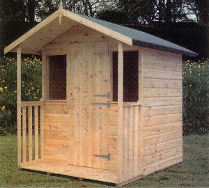 "Wonersh-Playhouse-with-18""-Verandah"