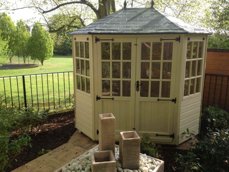 Gazebo Double Door